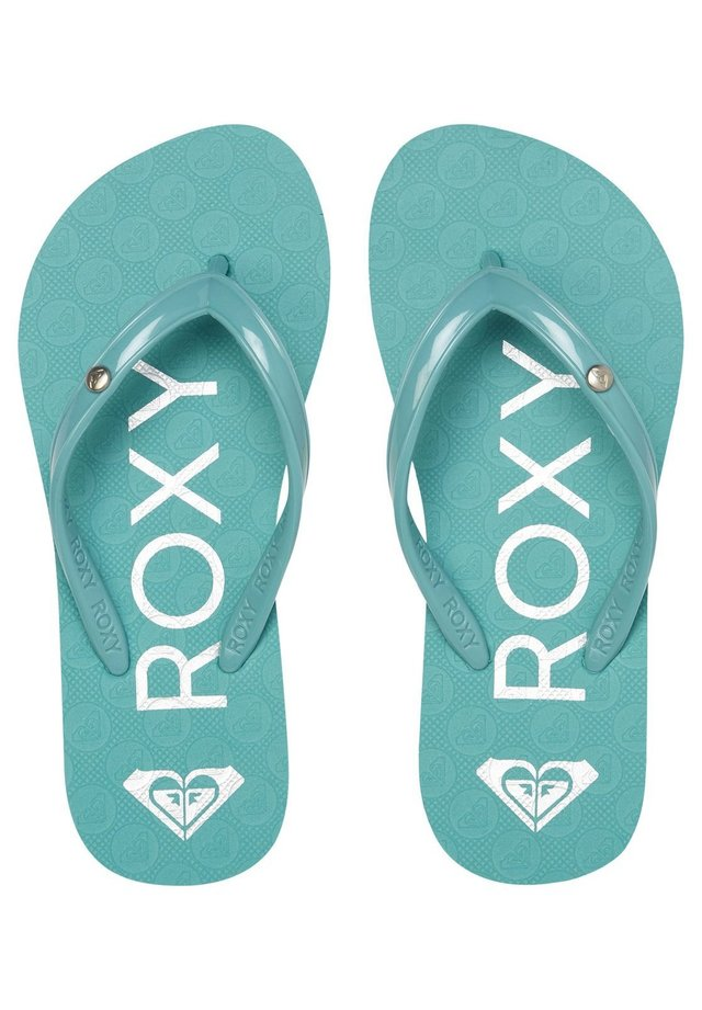 ROXY™ SANDY - FLIP-FLOPS FOR GIRLS 8-16 ARGL100286 - T-bar sandals - pacific blue