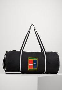 Nike Performance - COURT - Sports bag - black/white - 0