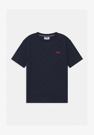 FLAVIO  - Print T-shirt - black iris