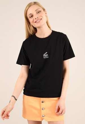 FILM - Print T-shirt - black