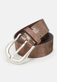 Vanzetti - Belt - taupe/copper - 3
