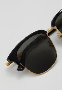 Gucci - Occhiali da sole - black/gold-coloured/grey - 3
