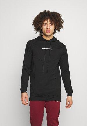 STATEMENT HOODIE - Sweatshirt - black