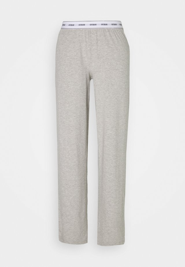 LONG PANT - Nattøj bukser - light heather grey