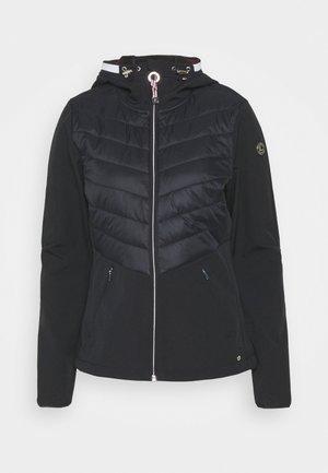 ILAJA - Soft shell jacket - dark blue