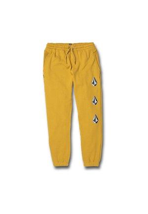 DEADLY STONES - JAUNE - Pantalones - yellow