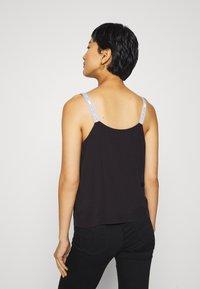 Calvin Klein Jeans - LOGO STRAP TANK - Top - ck black - 2