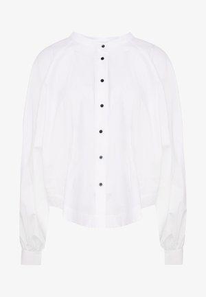 JOAN - Button-down blouse - white