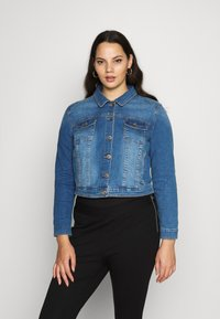 CAPSULE by Simply Be - WESTERN JACKET - Denim jacket - blue - 0
