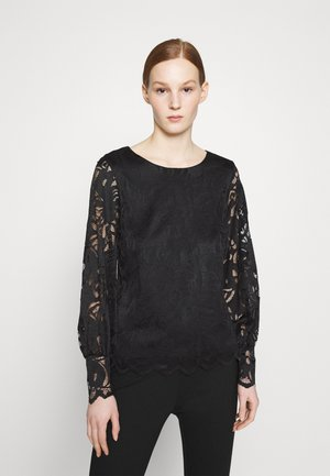 VISTASIA BALLON SLEEVE  - Blouse - black