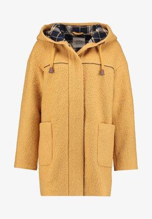 Krátký kabát - amber yellow