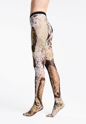 SERPENTES  - Tights - reptile print