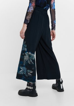 GABRIELA - Trousers - blue