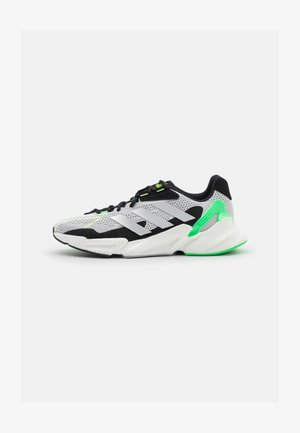 X9000L4 BOOST - Neutral running shoes - crystal white/footwear white/screaming green