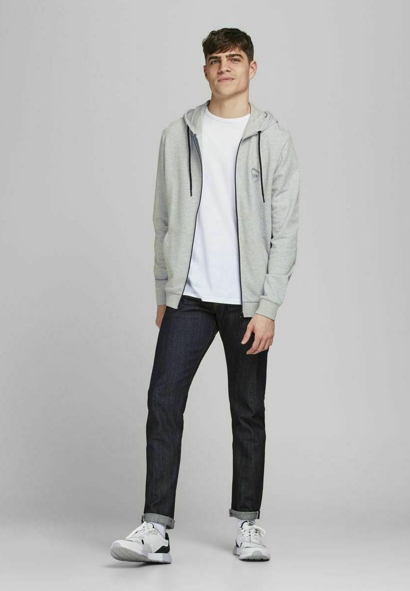 Jack & Jones - 2 PACK - Zip-up sweatshirt - navy blazer