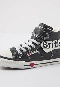 British Knights - ROCO - Sneakers hoog - black/white - 5