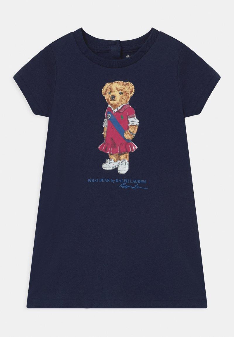 Polo Ralph Lauren - BEAR SET - Jersey dress - newport navy