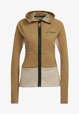 TERREX ZUPAHIKE - Sweater met rits - brown