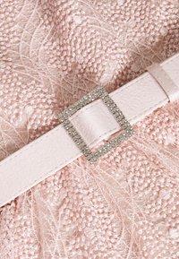 Adrianna Papell - DOT SEQUINSHORT DRESS - Cocktailkjoler / festkjoler - light blush - 2