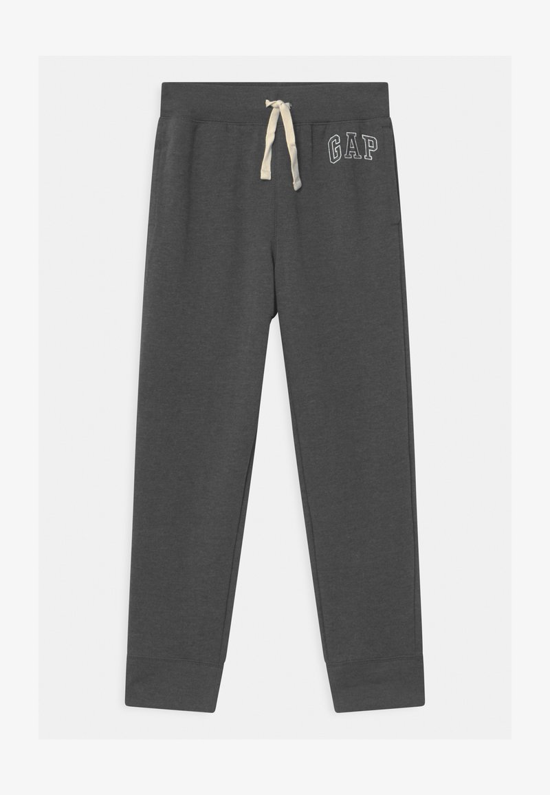 GAP - BOY HERITAGE LOGO  - Tracksuit bottoms - charcoal grey