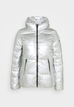 HOODED JACKET LEGACY - Winter jacket - silver
