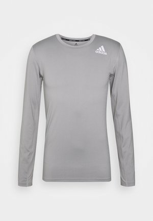 PRIMEGREEN COMPRESSION LONG SLEEVE T-SHIRT - Long sleeved top - solid grey