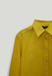Massimo Dutti - Button-down blouse - yellow - 3