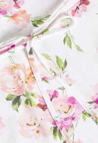 Miss Selfridge Petite - ONE SHOULDER OCCASION DRESS - Robe d'été - ivory - 2