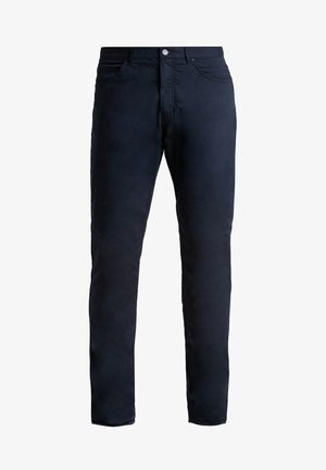 FLEX 5 POCKET PANT - Broek - black/wolf grey