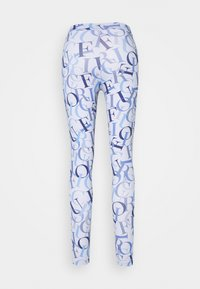 Fiorucci - ALL OVER LOGO  - Leggings - blue