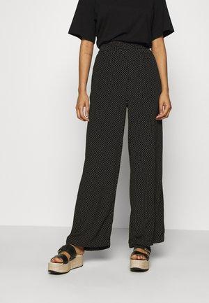 AMARA MOROCCO PANTS - Kalhoty - black