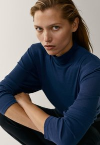Massimo Dutti - Long sleeved top - blue - 1