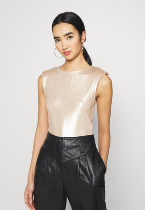 SHOULDER PAD BODY - Top - champagne