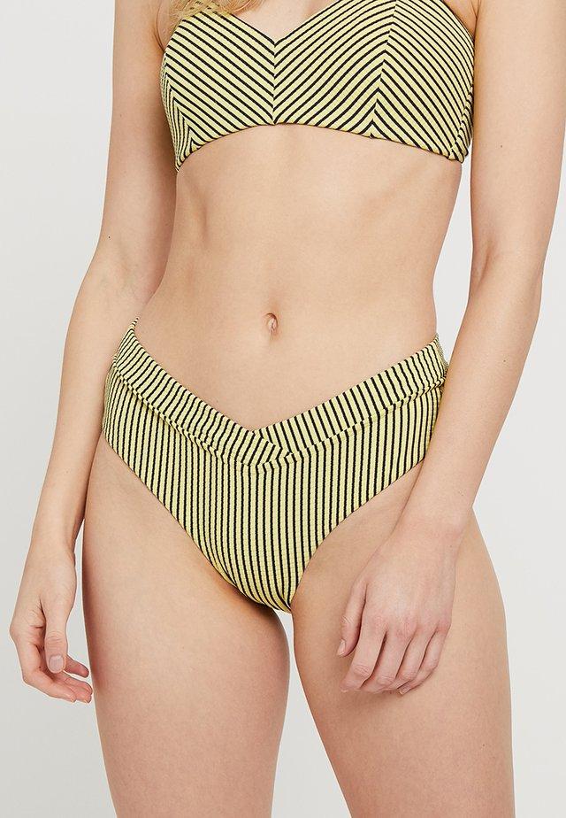 RETRO V FRONT - Bikini pezzo sotto - lime light