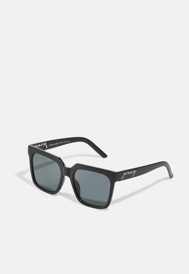 SUNGLASSES PRAY UNISEX - Sluneční brýle - black