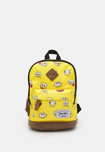 MINI KIDS SET BACKPACK + CASE - Rucksack - yellow