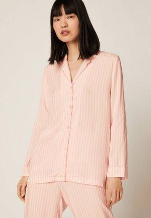 OBERTEIL MIT ROSAFARBENEN STREIFEN 31080168 - Pyžamový top - rose