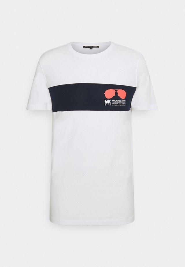 SPORT AVIATOR TEE - T-shirt print - white