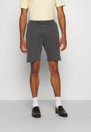 Shorts - dark grey logo