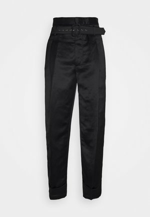 KRALL TROUSERS - Trousers - black