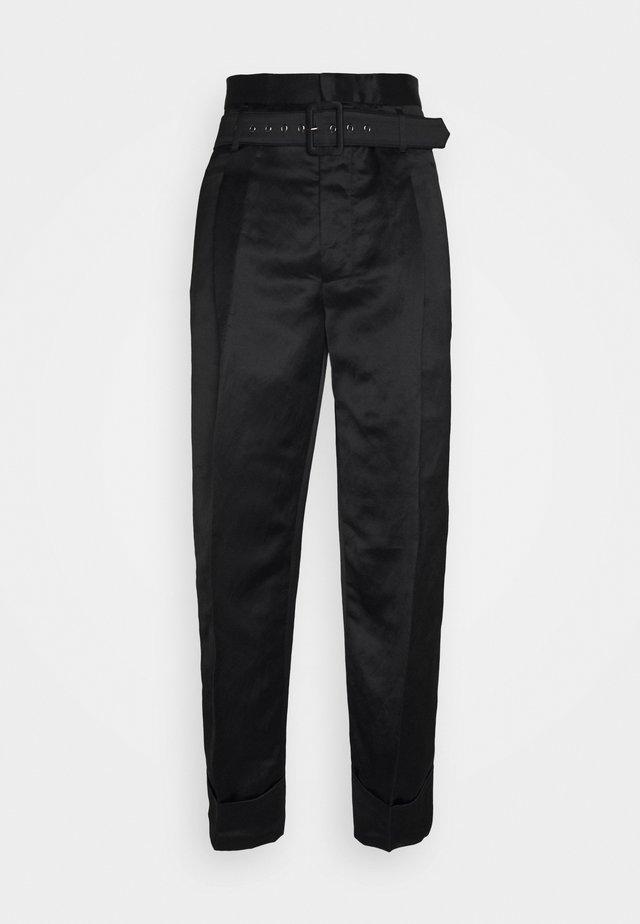 KRALL TROUSERS - Pantalon classique - black