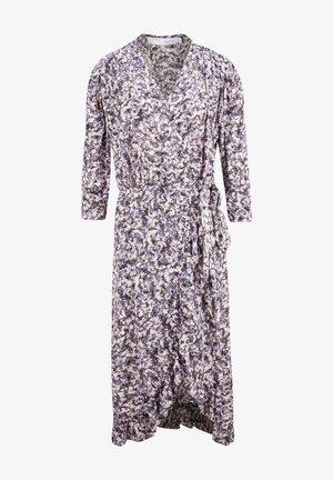 MIT BLUMENPRINT - Day dress - purple