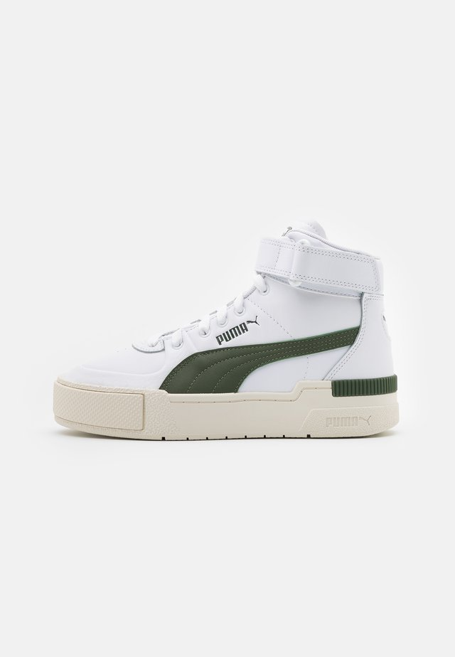 CALI SPORT WARM UP - Sneakers alte - white/thyme/marshmallow