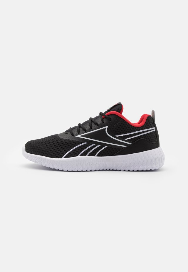 FLEXAGON ENERGY KIDS UNISEX - Sportschoenen - black/red/white