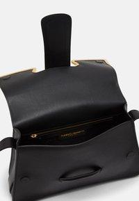Alberta Ferretti - SHOULDER BAG MEDIUM BUCKLE - Across body bag - black - 3