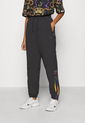 PAOLINA RUSSO ADICOLOR SPORTS INSPIRED MID RISE PANTS - Joggebukse - black