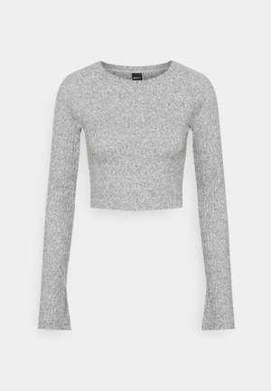 KINSLEY - Long sleeved top - grey melange