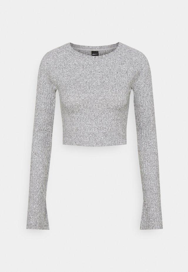 KINSLEY - Pitkähihainen paita - grey melange