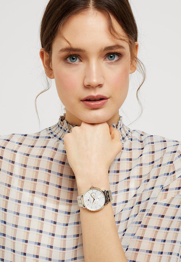 Tommy Hilfiger - JENNA - Horloge - silver-coloured/gold-coloured