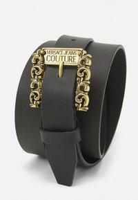 Versace Jeans Couture - CINTURA UNISEX - Pásek - nero - 4